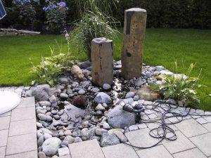 Wasserspiel Basaltsäulen