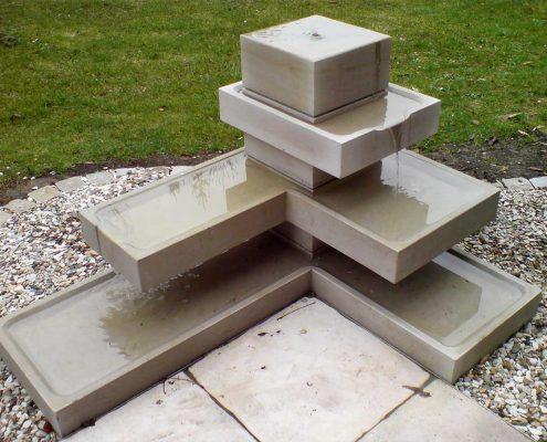 Wasserspiel Skulptur